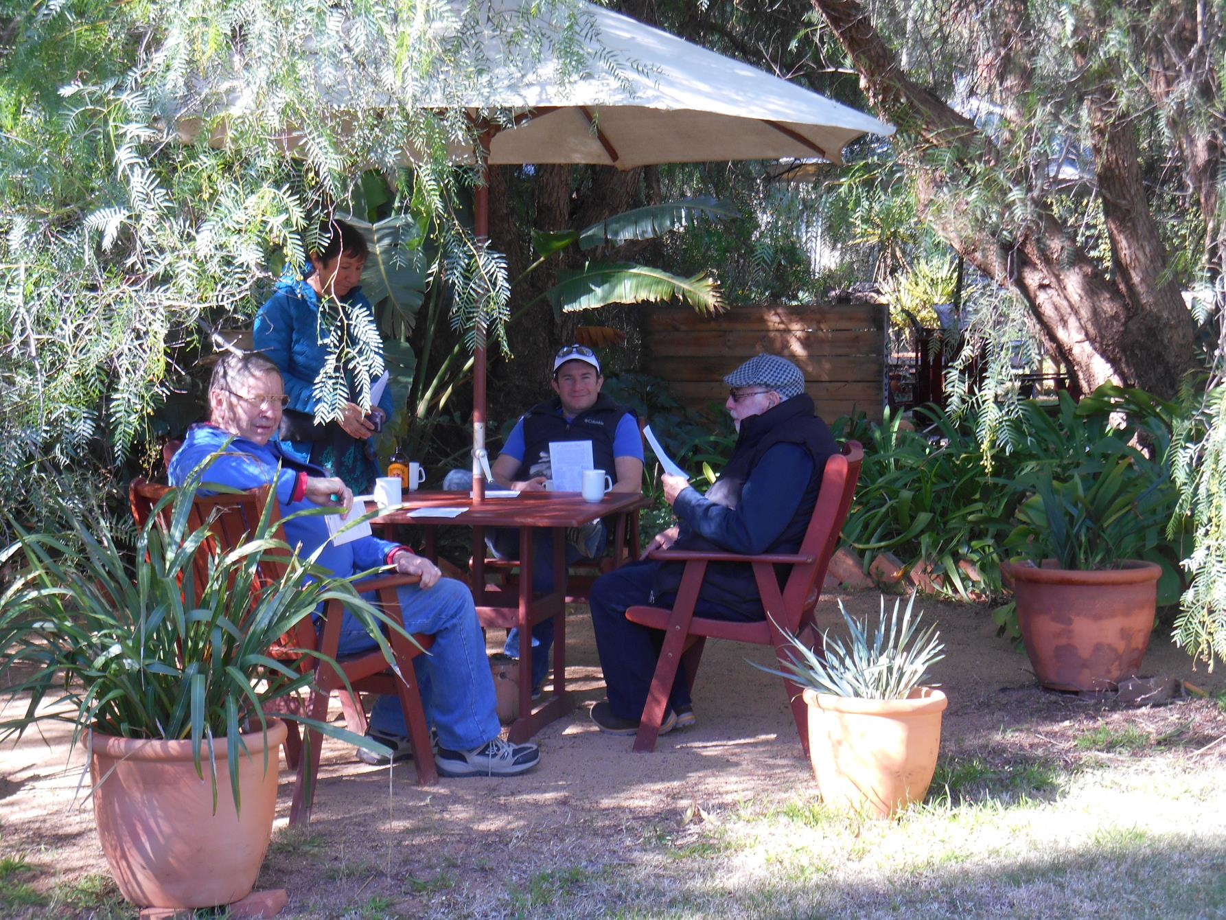 Tea & coffee are available from the cellar door